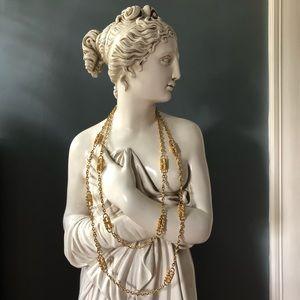 Vintage Jackie B. Kennedy Rhinestone Necklace